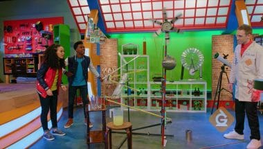 Rube Goldberg machines are a great example of energy transfers