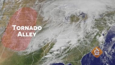 Tornado Alley goes from Texas to North Dakota