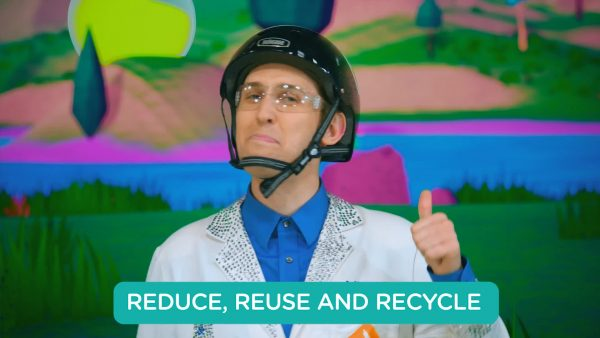 scientist explains how to reduce, reuse and recycle